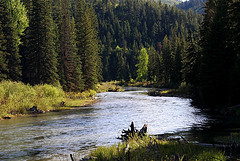 The Blackfoot River.  Photo by Bitterroot via Flickr CC.