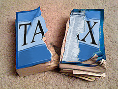 The tax code groweth.  Image by Chris Tolworthy via Flickr Creative Commons.