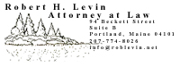 Robert Levin - Attorney at Law